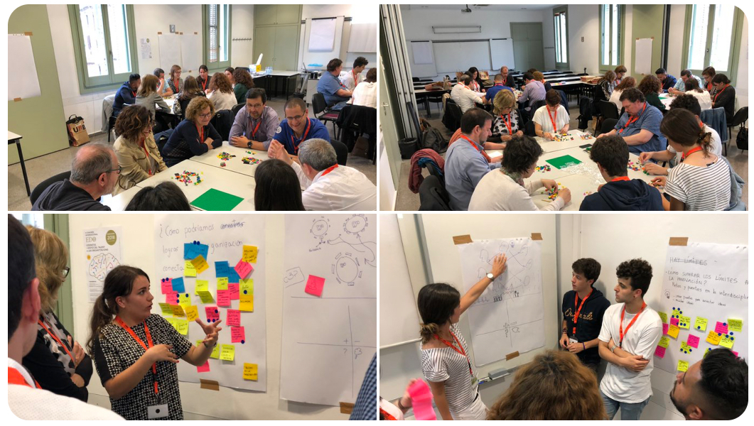 Taller de Introducción al Design Thinking para 40 personas
